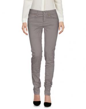 Повседневные брюки BLAUER. Цвет: свинцово-серый