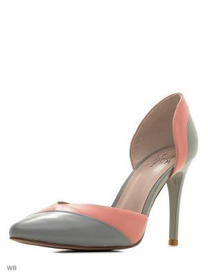 Туфли Sinta Gamma. Цвет: серый