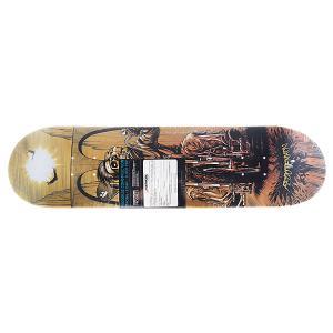 Дека для скейтборда  Progress Skull Fedotenkov 31.6 x 8 (20.3 см) Footwork. Цвет: мультиколор