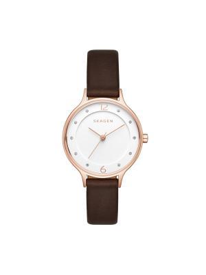 Часы SKAGEN. Цвет: белый, золотистый, коралловый, розовый