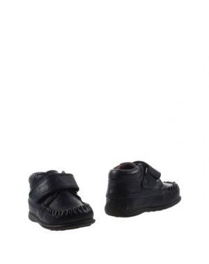 Полусапоги и высокие ботинки BISGAARD. Цвет: темно-синий