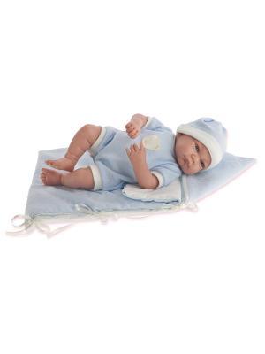 Кукла Ферран, озвученная, 40 см. Antonio Juan. Цвет: голубой