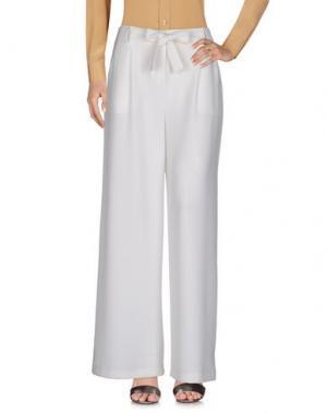 Повседневные брюки VICOLO. Цвет: белый