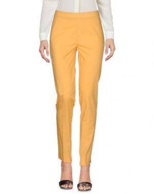 Повседневные брюки ROSSO35. Цвет: желтый