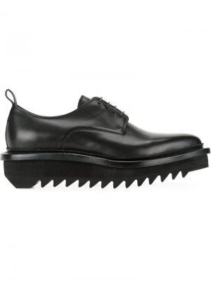 Туфли на платформе Hl Heddie Lovu. Цвет: чёрный