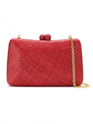 Clutch bag Serpui. Цвет: красный