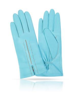 Перчатки MICHEL KATANA`. Цвет: бирюзовый
