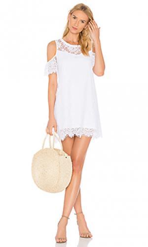 Платье hamilton Generation Love. Цвет: белый
