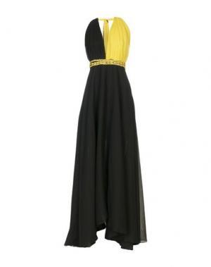 Длинное платье SHI 4. Цвет: черный