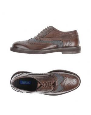 Обувь на шнурках DIMATTIA. Цвет: темно-коричневый