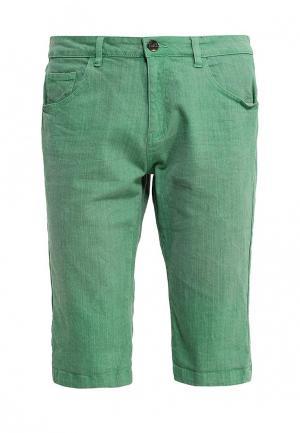 Шорты джинсовые Troll. Цвет: зеленый