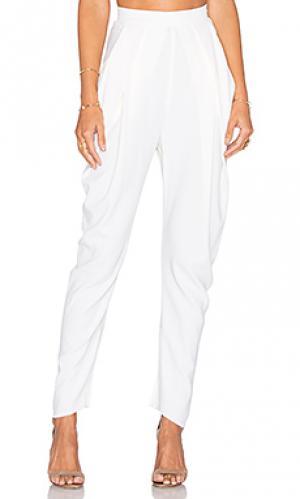 Драпированные брюки KITX. Цвет: ivory