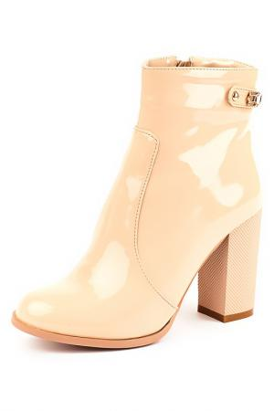 Ботинки Norka. Цвет: бежевый