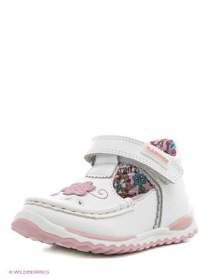 Туфли Flamingo. Цвет: белый