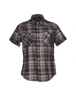 Pубашка MELTIN POT. Цвет: зеленый-милитари