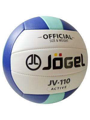 Мяч волейбольный Jogel JV-110. Цвет: синий