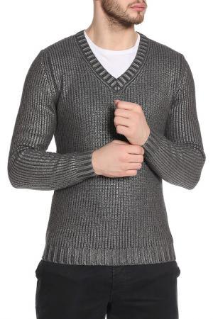 Пуловер Strellson. Цвет: серый