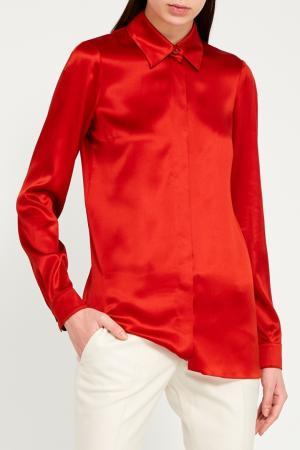 Красная рубашка Gucci. Цвет: красный