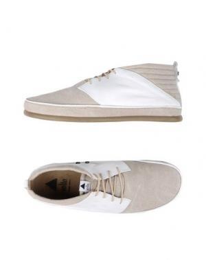 Обувь на шнурках VOLTA. Цвет: бежевый