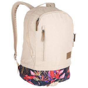 Рюкзак городской  Ridge Backpack Se Khaki/Multi Nixon. Цвет: бежевый
