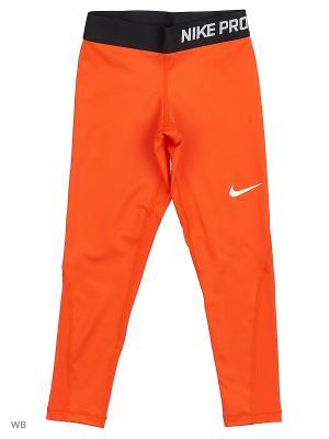 Леггинсы G NP CL TGHT Nike. Цвет: оранжевый