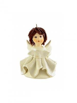 Статуэтка Ангел-колокольчик Zampiva. Цвет: белый, коричневый