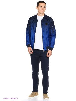 Куртка NICKELSON. Цвет: голубой