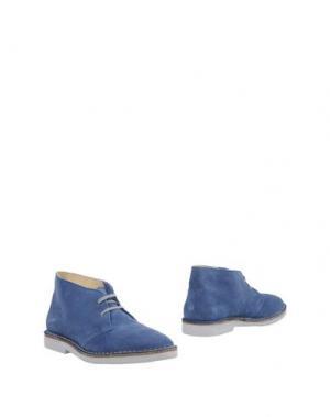 Полусапоги и высокие ботинки WALLY WALKER. Цвет: грифельно-синий