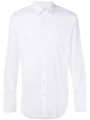 Классическая рубашка Aspesi. Цвет: белый