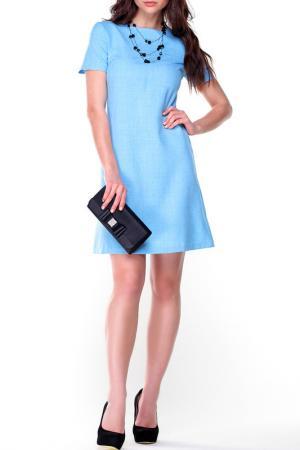 Платье Laura Bettini. Цвет: голубой