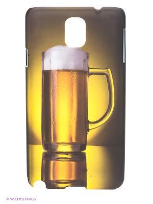 Чехол для Samsung Note 3 WB. Цвет: светло-коричневый, желтый