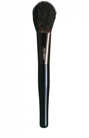Кисточка для румян Shiseido. Цвет: бесцветный