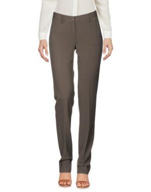 Повседневные брюки METRADAMO. Цвет: хаки