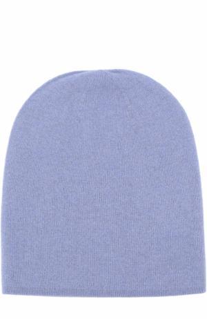 Кашемировая шапка Tegin. Цвет: голубой