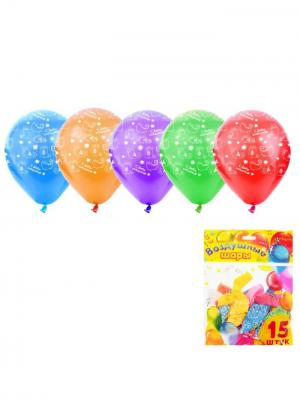 Набор воздушных шаров А М Дизайн. Цвет: фиолетовый, красный, оранжевый