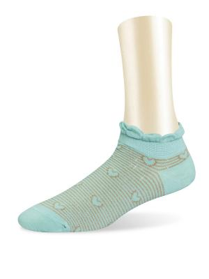 Носки, 2 пары Glamuriki. Цвет: бирюзовый