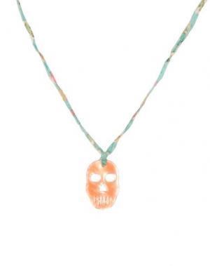 Ожерелье AURÉLIE BIDERMANN. Цвет: зеленый