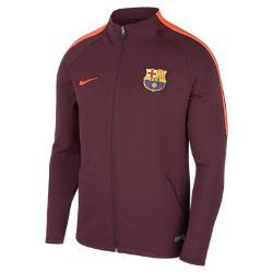 Мужская футбольная куртка FC Barcelona Dri-FIT Strike Nike. Цвет: пурпурный