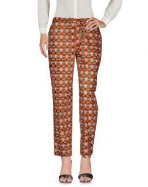 Повседневные брюки MONOCROM. Цвет: оранжевый