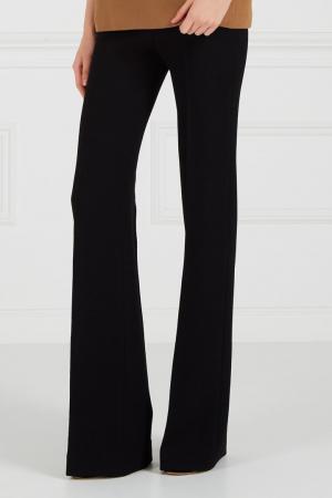 Черные широкие брюки Chapurin. Цвет: черный