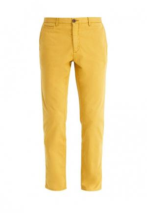 Чиносы Mango Man. Цвет: желтый