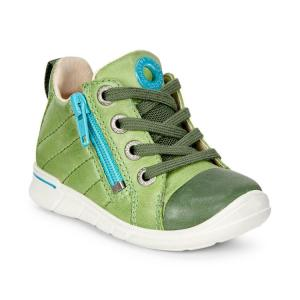 Ботинки ECCO. Цвет: зеленый