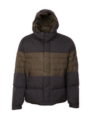 Куртка DKNY. Цвет: серо-зеленый