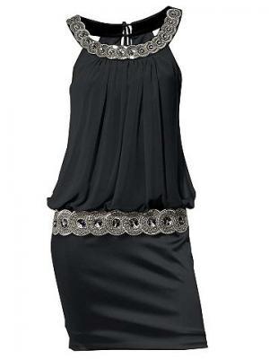 Коктейльное платье CARRY ALLEN. Цвет: черный