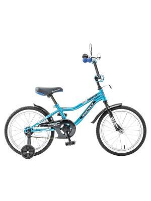 Велосипед 20 BOISTER NOVATRACK. Цвет: синий