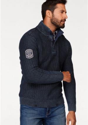 Пуловер MANS WORLD MAN'S. Цвет: темно-синий