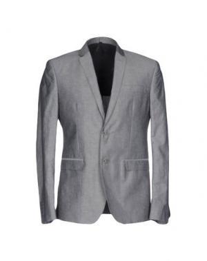 Пиджак J.W. TABACCHI. Цвет: серый