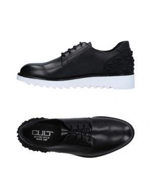 Обувь на шнурках CULT. Цвет: черный