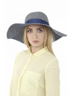 Шляпа Gusachi. Цвет: синий, бежевый