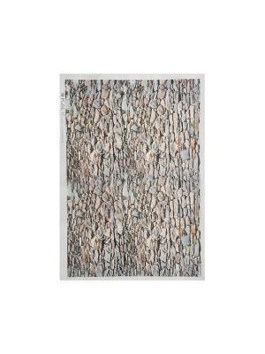 Декупажная карта 32*45 камни Idigo. Цвет: сиреневый, прозрачный